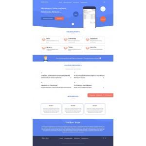 Extranet de Dolibarr - Sitio web y extranet de clientes