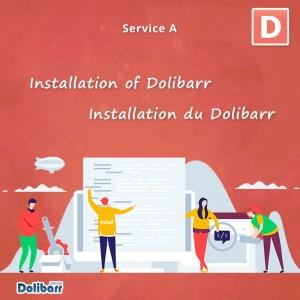 Installation Dolibarr Service