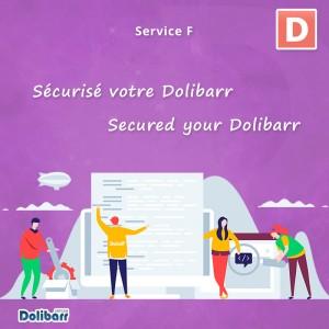 Servicio: Asegure su Dolibarr
