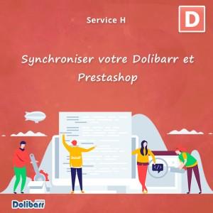 Service: Synchronisieren Sie Dolibarr und Prestashop