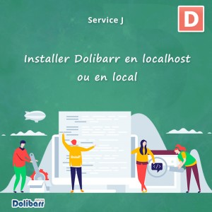 Service: Install Dolibarr locally or locally