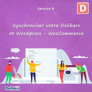 Service: Synchronisieren Sie Dolibarr und Wordpress - WooCommerce