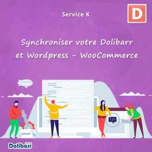 Service: Synchronize your Dolibarr and Wordpress - WooCommerce