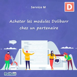 Acheter les modules Dolibarr chez un partenaire Dolibarr