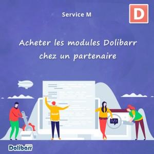 Acquista i moduli Dolibarr da un partner Dolibarr