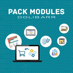 PACK MODULES DOLIBARR - 23 Modules ✓