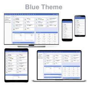 """مظهر جديد لدوليبار """"BlueTheme"""""""