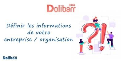Dolibarr : Define your Company / Organization information