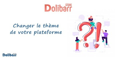 Dolibarr: Change the theme of your platform