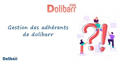 Management of Dolibarr members!