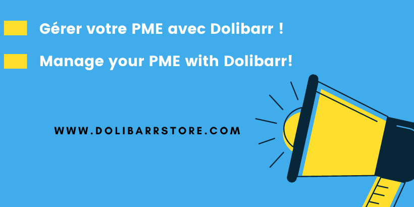Manage your PME with Dolibarr!