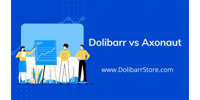 Dolibarr vs Axonaut: comparaison, caractéristiques, différences et avis.