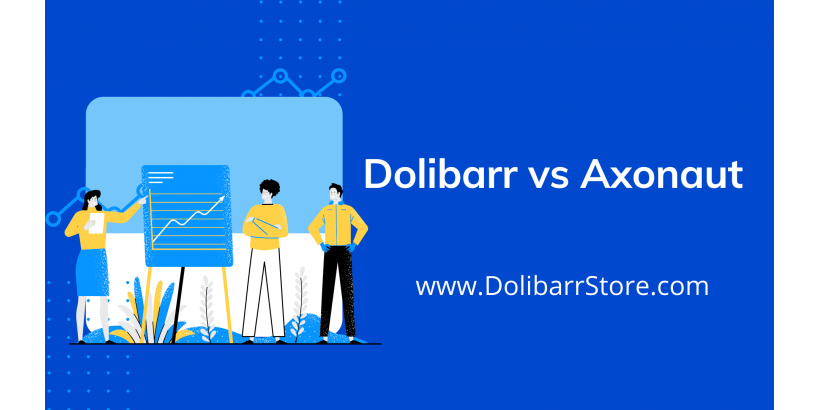 Dolibarr vs Axonaut: comparison, features, differences and reviews.