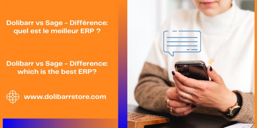 Dolibarr vs Sage - Différence: quel est le meilleur ERP?