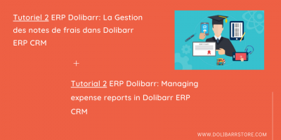 Tutorial 2 ERP Dolibarr: Managing expense reports in Dolibarr ERP CRM
