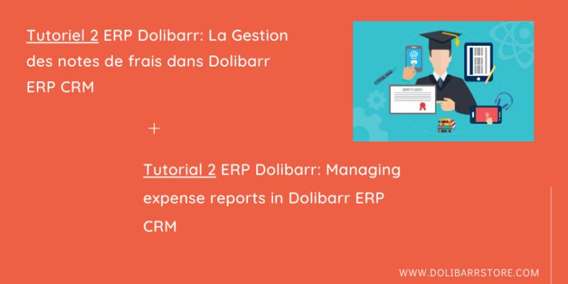 Tutoriel 2 ERP Dolibarr: La Gestion des notes de frais dans Dolibarr ERP CRM
