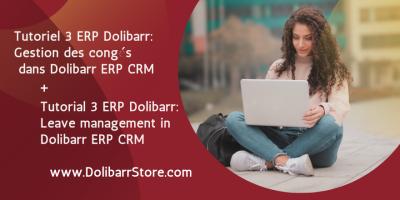 Tutorial 3 ERP Dolibarr: Leave management in Dolibarr ERP CRM