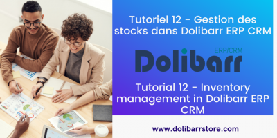 Tutorial 12 - Inventory management in Dolibarr ERP CRM