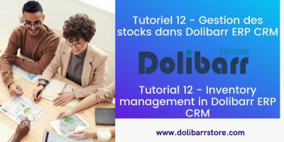 Tutoriel 12 - Gestion des stocks dans Dolibarr ERP CRM