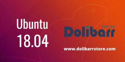 Étape par étape: installer l'ERP / CRM Dolibarr sur Ubuntu 18.04?