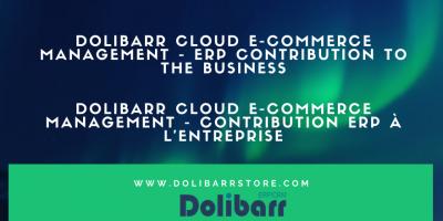 Dolibarr Cloud E-Commerce Management - Contribution de l'ERP à l'entreprise