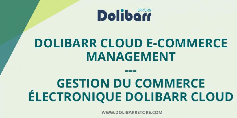 Dolibarr Cloud E-Commerce-Management