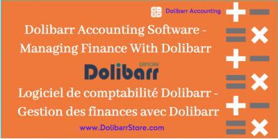 Logiciel de comptabilité Dolibarr - Gestion des finances avec Dolibarr
