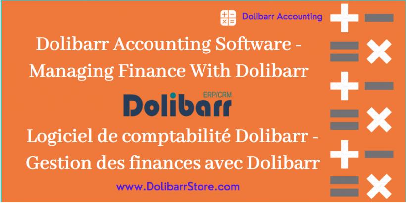 Dolibarr Accounting Software - Verwalten von Finanzen mit Dolibarr