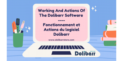 Working And Actions Of The Dolibarr Software