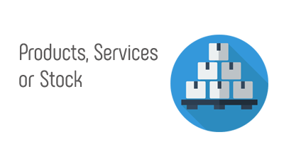 Products, Services or Stock